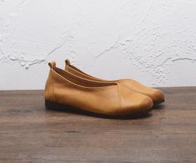 系带擦色女士马丁短靴