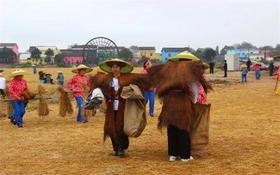 11.4稻花香里农耕文化园第二届闹秋节等你收稻谷啦,还有超多好玩的农耕体验以及露营等你来!