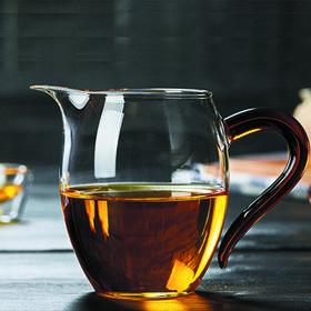 加厚耐热玻璃公道杯 分茶器 茶海 功夫茶具 耐高温