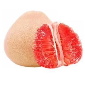 柚美滋三红蜜柚,一件4粒九斤