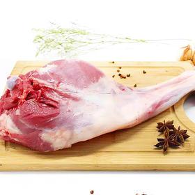 【蒙羊羊】羊后腿 锡林郭勒草原有机散养 国家地标羊肉 1.75千克 顺丰包邮