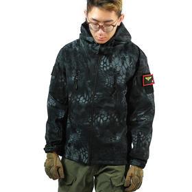 【防水防风保暖】鲨鱼皮软壳战术冲锋衣