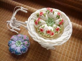 玫瑰花南瓜针插材料包