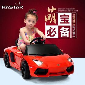 星辉兰博基尼LP700儿童电动车婴儿汽车宝宝玩具车四轮可坐遥控