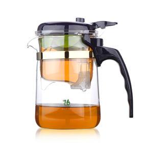 飘逸杯正品全玻璃外杯过滤内胆耐热玻璃茶具茶壶泡茶器办公旅行YD370