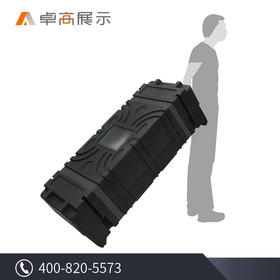 卓高展示 大型超长多功能可叠加重型运输箱超坚固展会