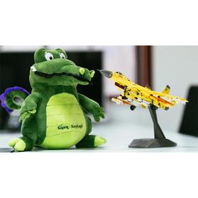 【凯洛格周边】鳄鱼快跑公仔