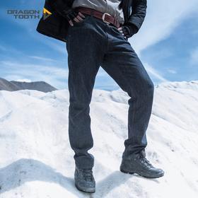 龙牙DragonTooth 防寒型第三代隐锋者战术通勤牛仔裤 男士秋冬款直筒裤 摇粒绒保暖内衬
