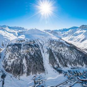 伊泽尔山谷滑雪天堂 伊泽尔VAL D'ISERE+蒂涅TIGNE