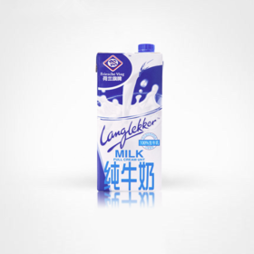 荷兰旗牌100%生牛乳全脂牛奶1L*12盒/箱