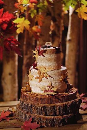 枫叶裸蛋糕