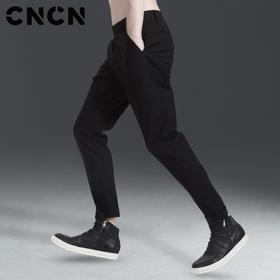 CNCN男装 春季男士休闲裤 青年潮牌束脚裤子 男小脚裤 CNAK31090