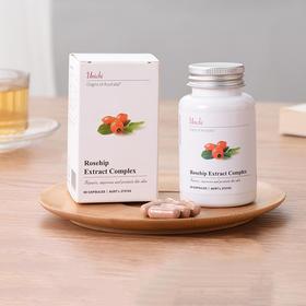 澳洲Unichi 玫瑰果精华胶囊 美白丸60粒 由内而外的玫瑰肌!女性内服全身美白修复