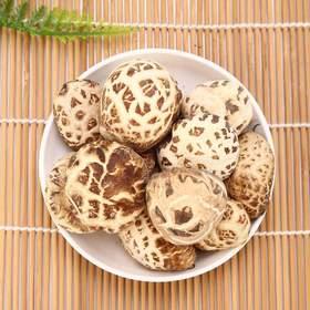 【伏龙山_秋栽白花菇400克】神农架特产干货香菇椴木蘑菇批发包邮