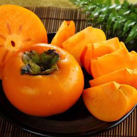 【有赞精选】现货新鲜水果柿子农家甜柿 脆柿子水果 硬柿子现摘包邮5斤装
