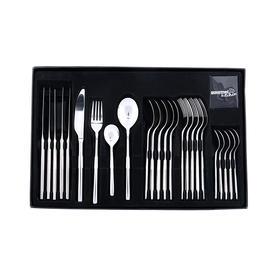 澳洲【Gourmet Kitchen】贵族宫廷不锈钢西餐餐具24件套