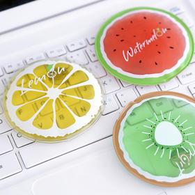 水果系列便携暖暖宝  可反复使用    文具