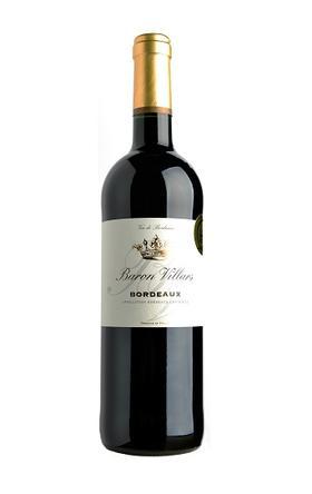 维拉男爵干红葡萄酒2015/Baron Villars 2015