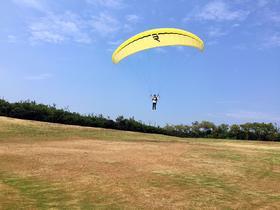 顾村公园滑翔伞控伞体验+水上娱乐