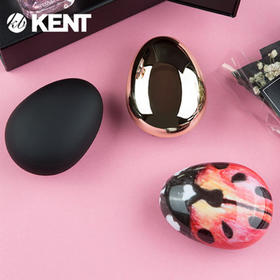 英国皇室用了240年的美发梳,百年品牌 KENT 肯特手掌按摩梳 / 便携气囊梳!时髦外观、出差旅行必备,随时舒缓头皮压力