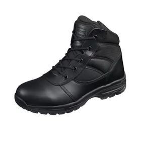【防水防霉抗菌】君洛克6寸巡警执勤靴 保护脚踝 送鞋垫