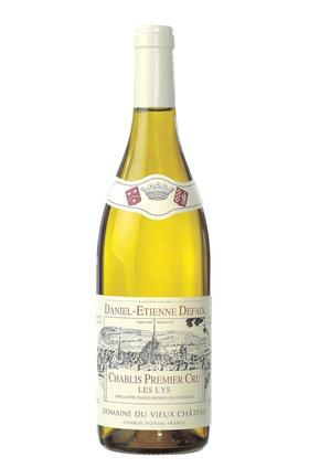 德菲庄园夏布利丽思干白葡萄酒2003/Domaine Daniel-Etienne Defaix Chablis Les Lys 1er Cru2003