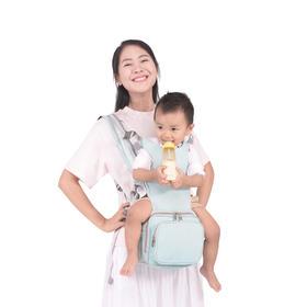 GeekPaPa腰凳大容量背包坐凳二合一前抱式宝宝背带母婴包抱娃神器