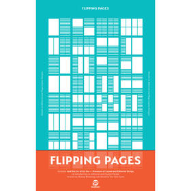 Flipping Pages 绝对版式 英文原版正版平面设计 版式设计图书 排版版面设计