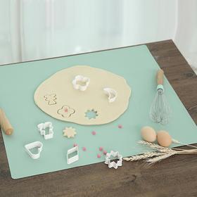 日本铂金硅胶揉面垫大号加厚食品级家用防滑烘培不沾案板擀面垫