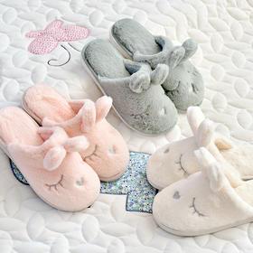 长耳兔冬季棉拖鞋  文具