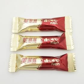 金帝美滋滋榛仁脆心巧克力散装500g约100颗夹心巧克力