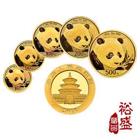2018熊猫金币普制金币30克(57克套装)