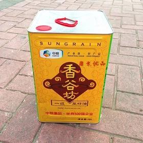 福临门香谷坊一级菜籽油16L 铁桶餐饮装 正品