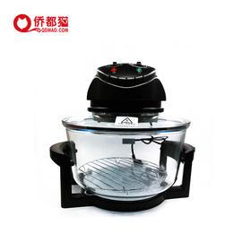辉胜达多功能烤锅 空气炸锅 光波炉烹饪炉锅 黑色  48小时内发货