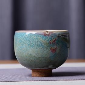 景德镇陶瓷手工单杯 窑变工艺