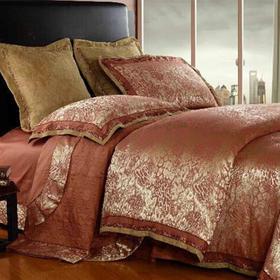 贡缎提花床盖七件套-佛罗伦萨