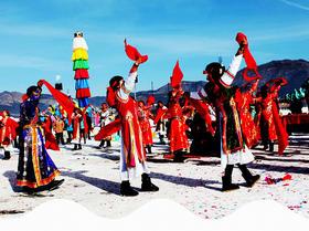 圣地天堂上的辞旧迎新:陪你双节狂欢:藏历新年、农历春节(7天)