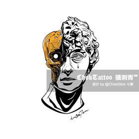 原创图 | 石膏骷髅头像 by 七哥