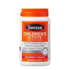 澳洲Swisse 儿童复合维生素 120粒