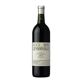 瑞园盖世泉红葡萄酒,美国 索诺玛海岸  Ridge Geyserville Zinfandel Blend, USA Sonoma County