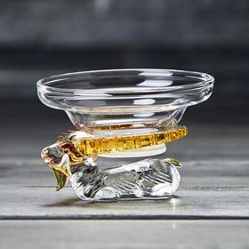 玻璃茶漏茶滤功夫茶具滤茶器配件泡茶过滤器茶隔过滤网
