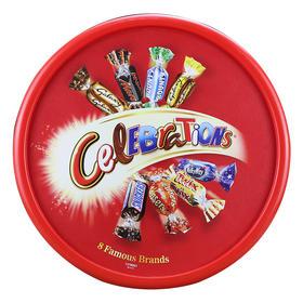 【包邮】 玛氏巧克力 英国Celebrations巧克力什锦礼盒 8种口味680g/盒