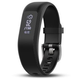 佳明(GARMIN)vivosmart 3 黑色 智能运动光学心率手环心率实时监测自动睡眠监测来电提醒运动蓝牙手表