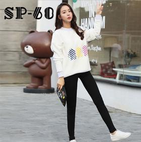 【一穿显瘦】韩国进口猩猩版 SP68秋冬加绒魔术裤 超弹力显瘦百搭