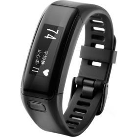 佳明(GARMIN)vivosmart HR 黑色 智能光学心率手环心率实时监测睡眠
