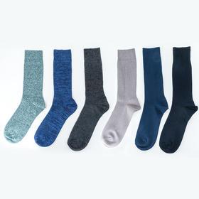 多色长筒棉袜 (3双装)买3双送2双 不挑色-部分有瑕疵线头,介意慎拍