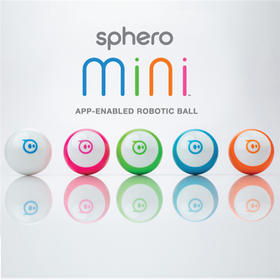 Sphero Mini可编程智能机器人,球形黑科技玩具,APP遥控互动