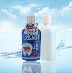 紀陽除虫菊漱口水L-8020 爽快薄荷500ml