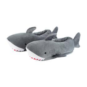 大白鲨男/女家居拖鞋 可爱大白鲨 萌化一整冬