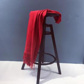 凹造型必备!澳洲IZR UGG羊绒羊毛围巾 男女保暖柔软 围巾披肩流苏 可质检 流苏
